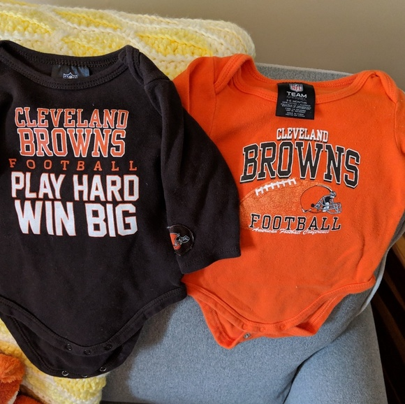 the latest 8f1cd 3226e NEW 5 piece Cleveland Browns baby lot 3-6m NWT